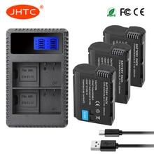 JHTC EN-EL15 EN EL15 ENEL15 EL15A Battery or LCD Dual USB Charger for Nikon D850 D810 D800 D750 D7500 D7200 D7100 D610 D600 meike mk d7100 mk d7100 vertical battery grip for nikon d7100 as mb d15 2 en el15 dual charger