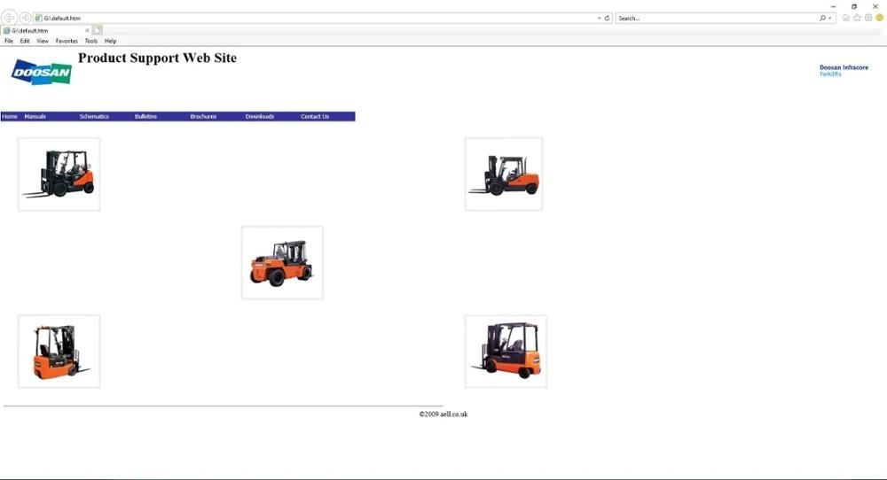 Doosan Infracore Forklift 2009 Service Manual Wiring Diagram and  Bulletin ddrs ddc - AliExpressAliExpress