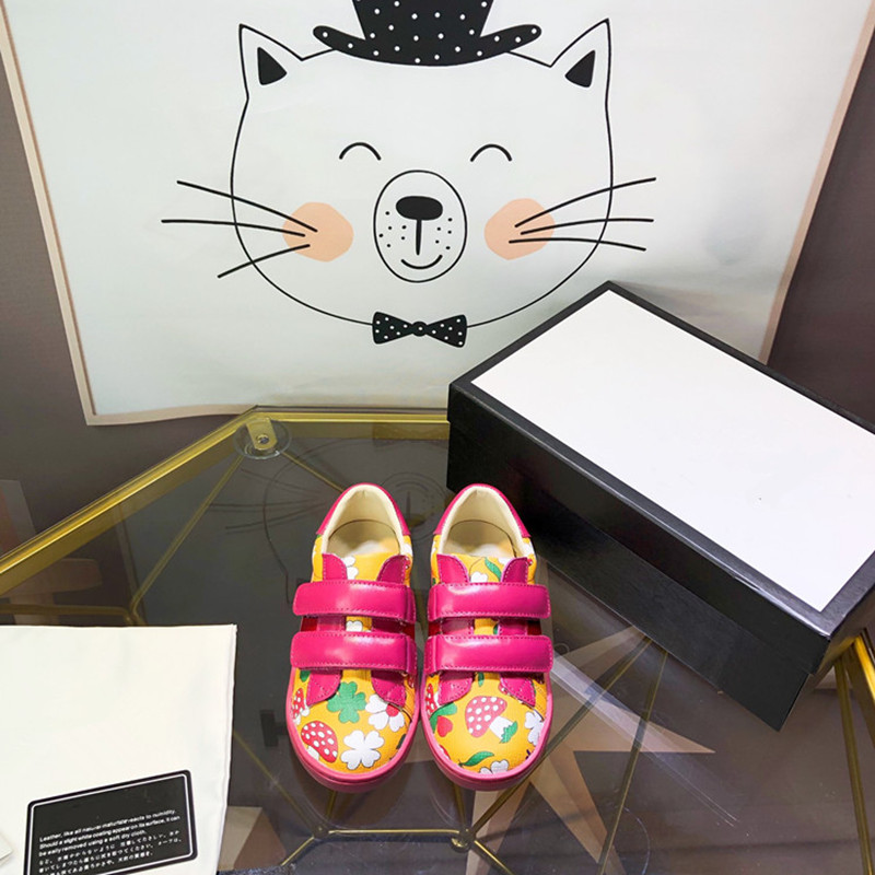 Girls' Printed Shoes Kids Brand Shoes