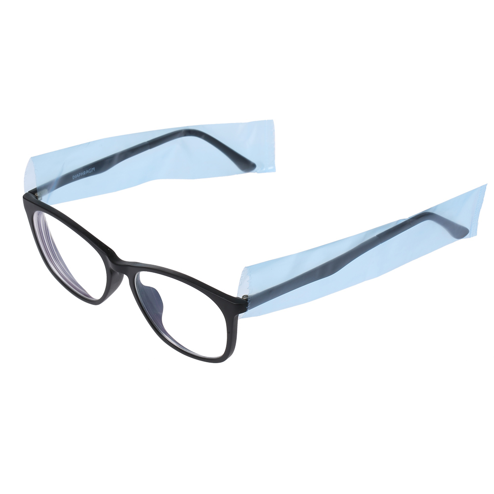 Disposable Glasses Leg Sleeves Salon Protective Eyeglass Leg Cover Eyeglasses Protector Disposable Glasses Leg Sleeves