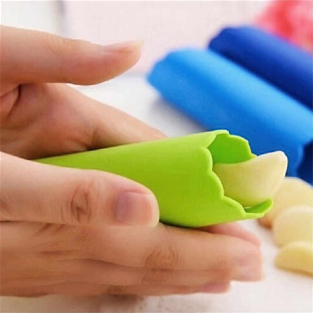 Silikon Knoblauch Schäler Schälen Einfache Nützliche Küche Werkzeuge ungiftig Sicherheit Gadget Knoblauch Stripper Rohr Peeling Knoblauch Peeling