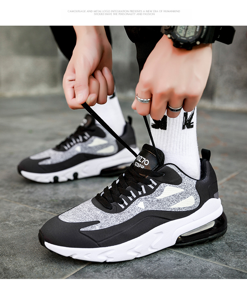 H6594177d077b4680a156346556cc9b10B - Mens Casual Shoes Fashion Male Sneakers Air Cushion Breathable Sports Running Shoes PU Mesh Tenis Masculino Adulto Men Shoe