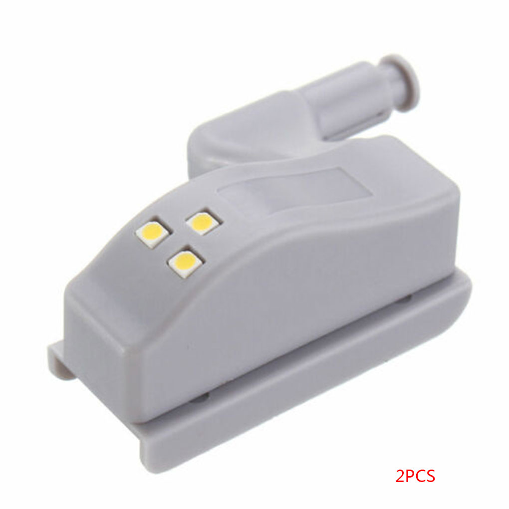 New 2/5/6/10PCS LED Cabinet Light Touch Sensor Cupboard Inner Hinge Lamp Wardrobe Closet Night Light Home Kitchen