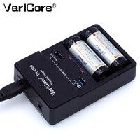 VariCore TR-2000 18650 배터리 충전기  고속 충전 3.0  충전 용 18650 26650 배터리 및 QC 3.0 / USB 5V 모바일 장치.