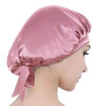 Ночнушка из шелка тутового шелкопряда шапочка для сна чистого