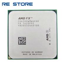 Usado amd fx 6300 am3 + 3.5ghz 8mb processador fx serial seis-core cpu fx6300