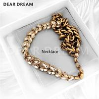 Angel Wings Choker Fashion Vintage Letters Necklace Jewelry & Accessories New Hot Sale For Women Girls Gift