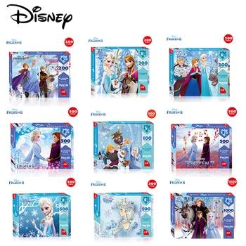 Disney Puzzle Frozen 2 Children's Puzzles Early Learning 100 Pieces 200 Pieces 500 Pieces 1000 Pieces Adult Puzzle 3d Puzzle New шарф pieces pieces pi752gwccoj2