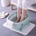 Foot Soaking Bucket Folding Basin Plastic Foaming Massage Bucket Household Sauna Bathtub Pedicure Bath Foldable Bathtub Wy112002