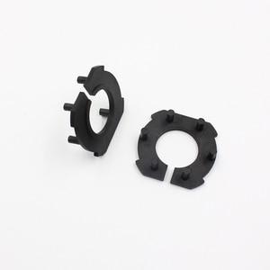 Image 4 - Rockeybright H7 Car headlight adapter for Mazda 3 LED H7 Bulb Holder Adapters socket base retaining clip for led headlight bulbs