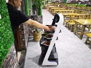 Customize hotel Restaurant administrative delivery Service Waiter smart Robot
