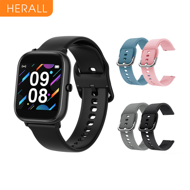2020 HERALL Smart Watch Men Womens Watches Sport Smartwatch Fitness Bracelet Heart Rate Monitor For Android Xiaomi Apple Huawei