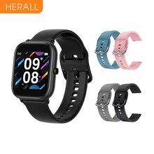 Смарт часы HERALL для мужчин и женщин 2020 спортивные Смарт часы фитнес браслет монитор сердечного ритма для Android Xiaomi Apple Huawei