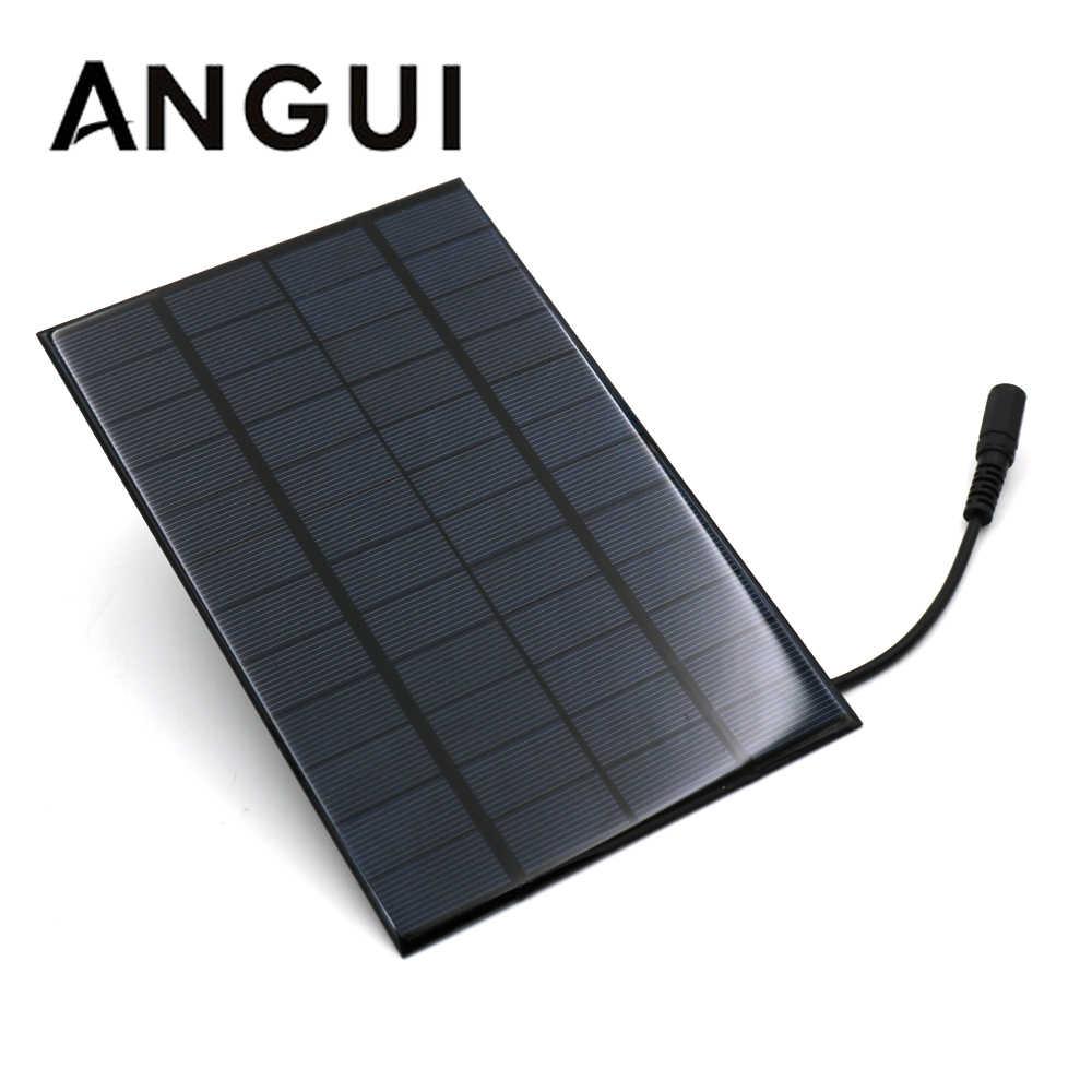 USB Charger Board Solar Module Solar Power Charging Panel 5V 10W//6V 1W Portable