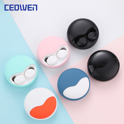 CEOWEN K10 Touch Version Of Wireless Bluetooth Earphone Fashion Marolon Colors HIFI Stereo Smart Noise Reduction Sport Earbuds