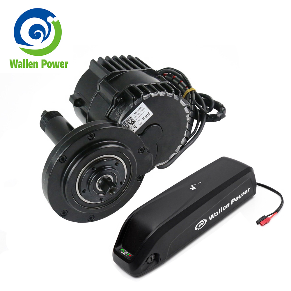 Mid <font><b>Motor</b></font> <font><b>36V</b></font> 250W Electric Mid Drive Electric Bike Conversion kit for Ebike 8Fun Bafang <font><b>motor</b></font> with Hailong <font><b>36V</b></font> 10Ah battery image