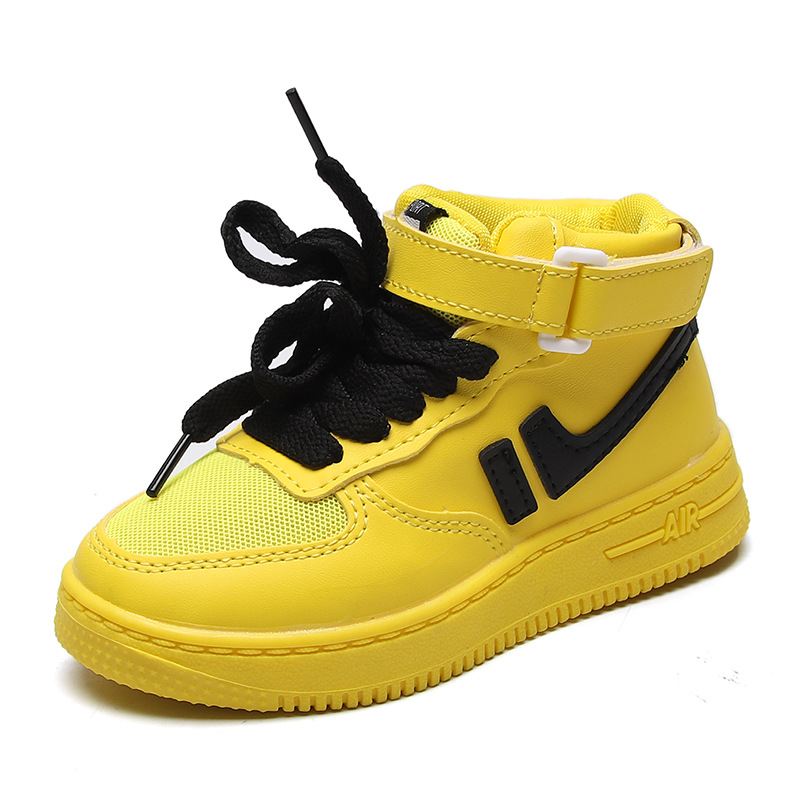 2019 Boy Casual Shoes Toddler Childrens Net Girl Short Boots High To Help Sports Kid Non-slip