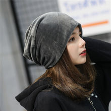 Hat Bomber-Ski Hip-Hop Spring New Women Simplicity-Cap Oversized Velvet Warm Autumn Slouch