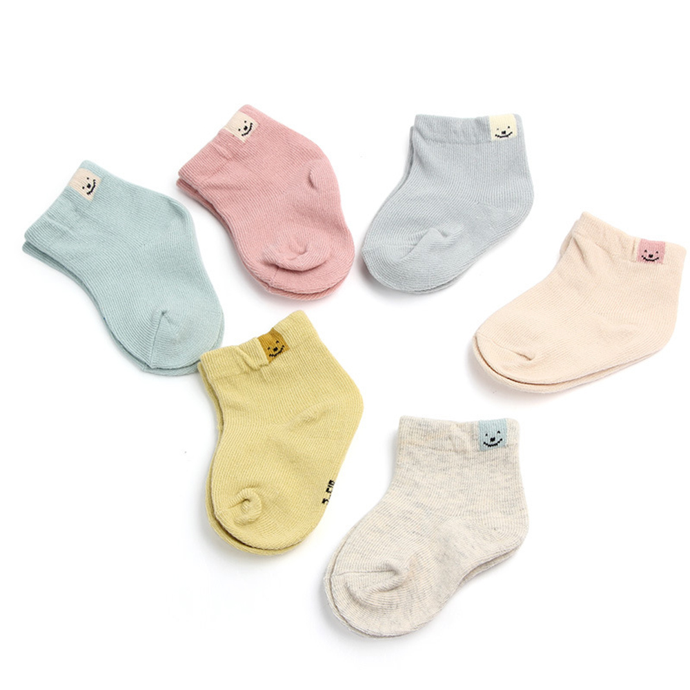 1 Pair Baby Socks Sock For Newborn Fresh Candy Color Short Tube Cotton Socks Spring Autumn New Cotton Fashion Cute Socks