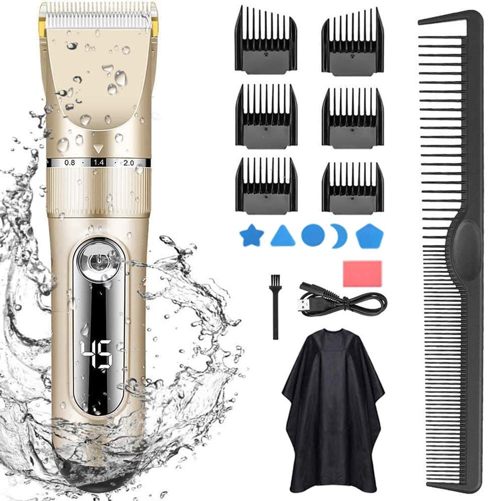 All In1 Electric Hair Clipper Rechargeable Low Noise Hair Trimmer Hair Cut Machine Beard Shaver Trimer Men Barber Hair Shaving