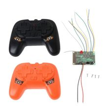 цена на 2.4G 8CH Remote Control with Receiver Board DIY Toy for Boat Tank Car 4-6V Accessories