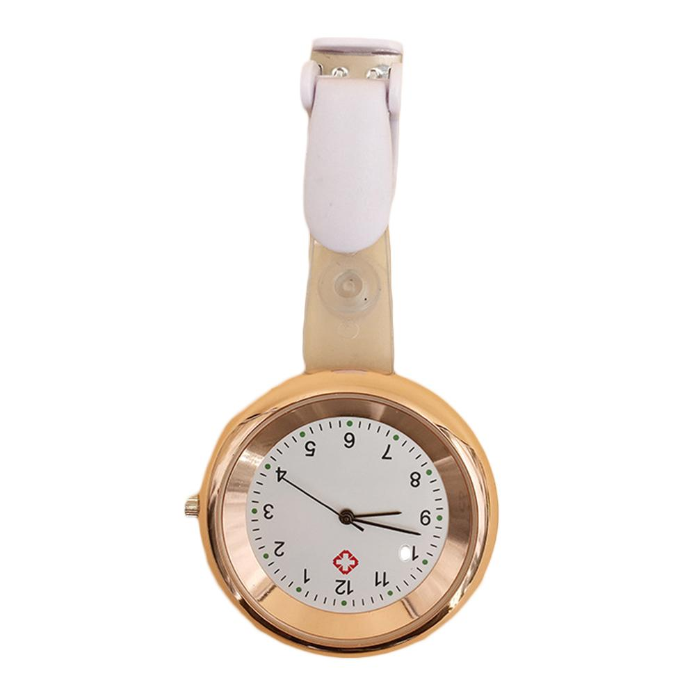 Fashion Nurse Medical Watch Dial Arabic Numerals Analog Quartz Clip On Designed  Unisex Doctor Watch Hang Watches мужские часы