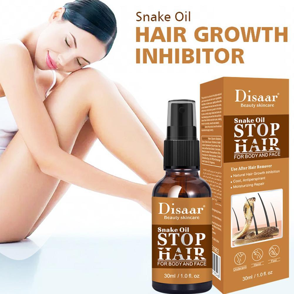 30ml Powerful Permanent Painless Hair Removal Spray Ant Oil Spray Stop Hair Growth Inhibitor Shrink Pores Skin Smooth