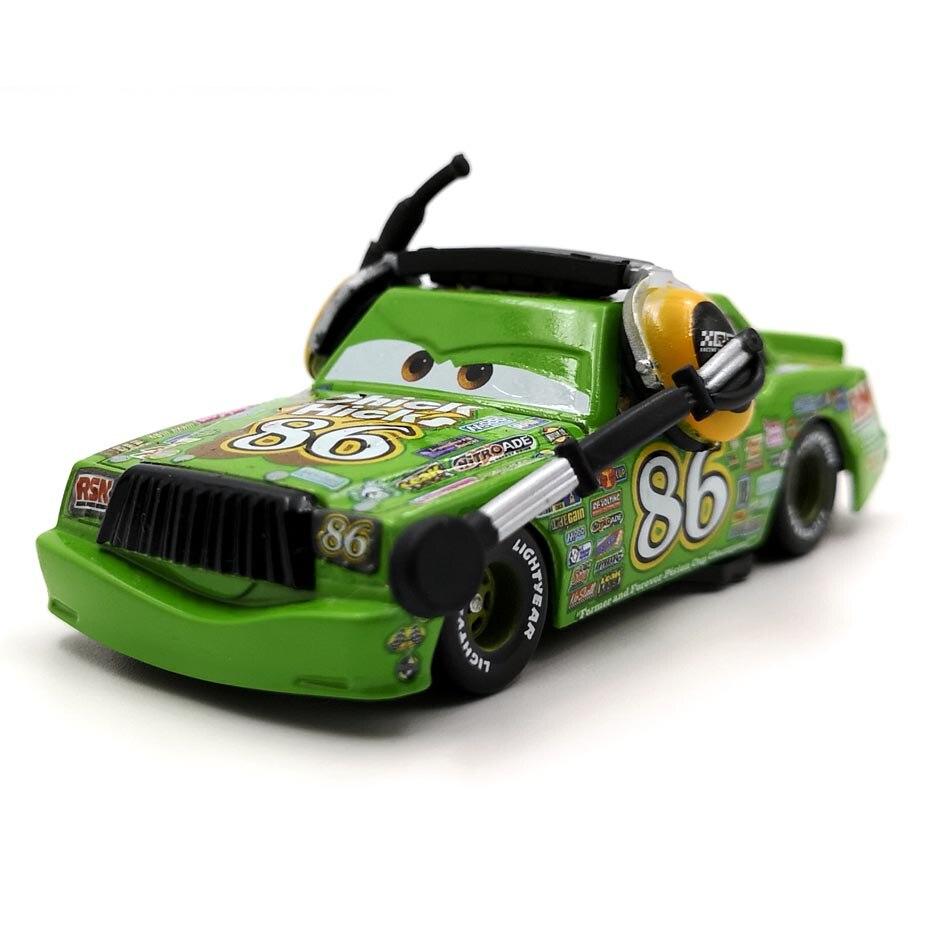 Disney Pixar тачки 3 20 стильные игрушки для детей Молния Маккуин Высокое качество Пластиковые тачки игрушки модели персонажей из мультфильмов рождественские подарки - Цвет: 22