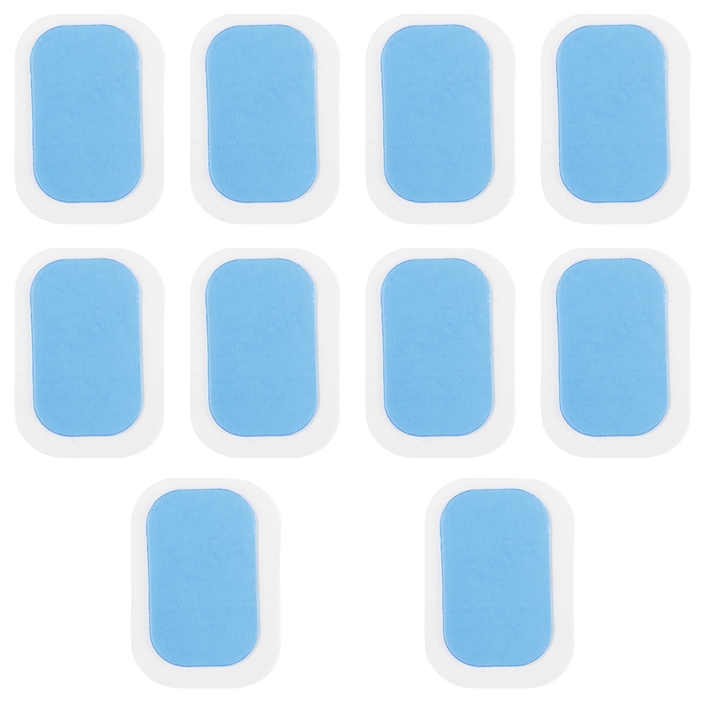 10Pcs Replacement Gel Stickers Patch Pads Silicone Hydrogel Mat For Wireless Smart EMS Abdominal Muscles Training Body Massager