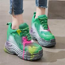 Новинка 2020 года; Модные женские кроссовки из натуральной кожи;