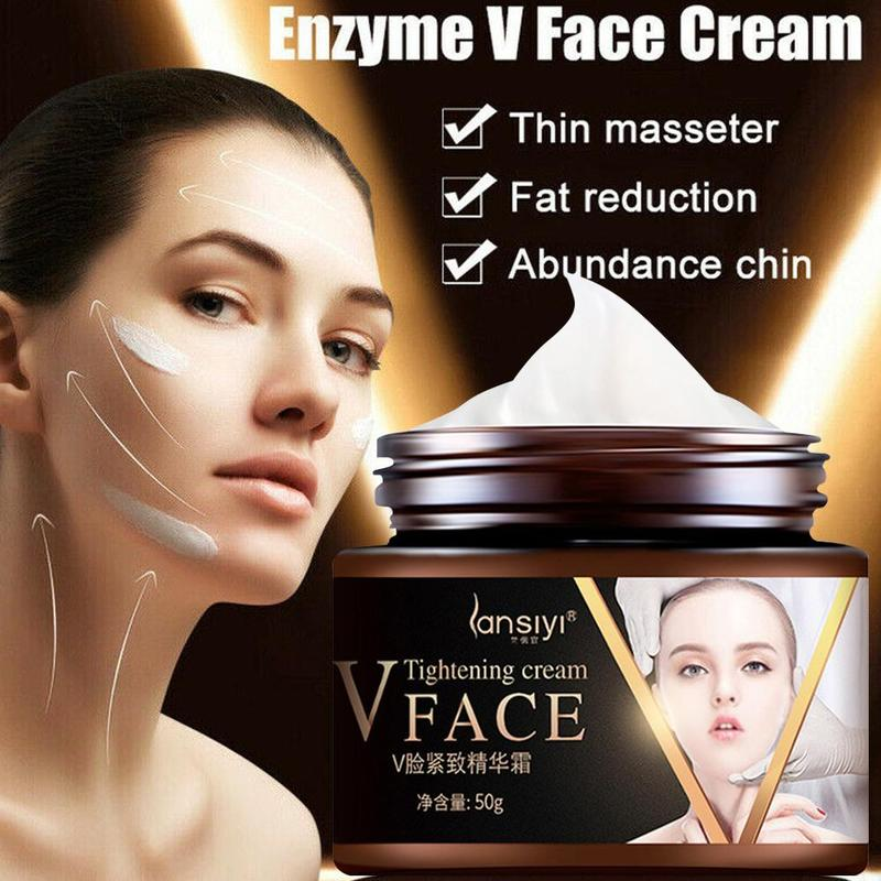 V-shape Face Slimming Collagen Cream Face Line Lifting Firming Moisturizing Cream Remove Double Chin Cheek Beauty Massage Cream