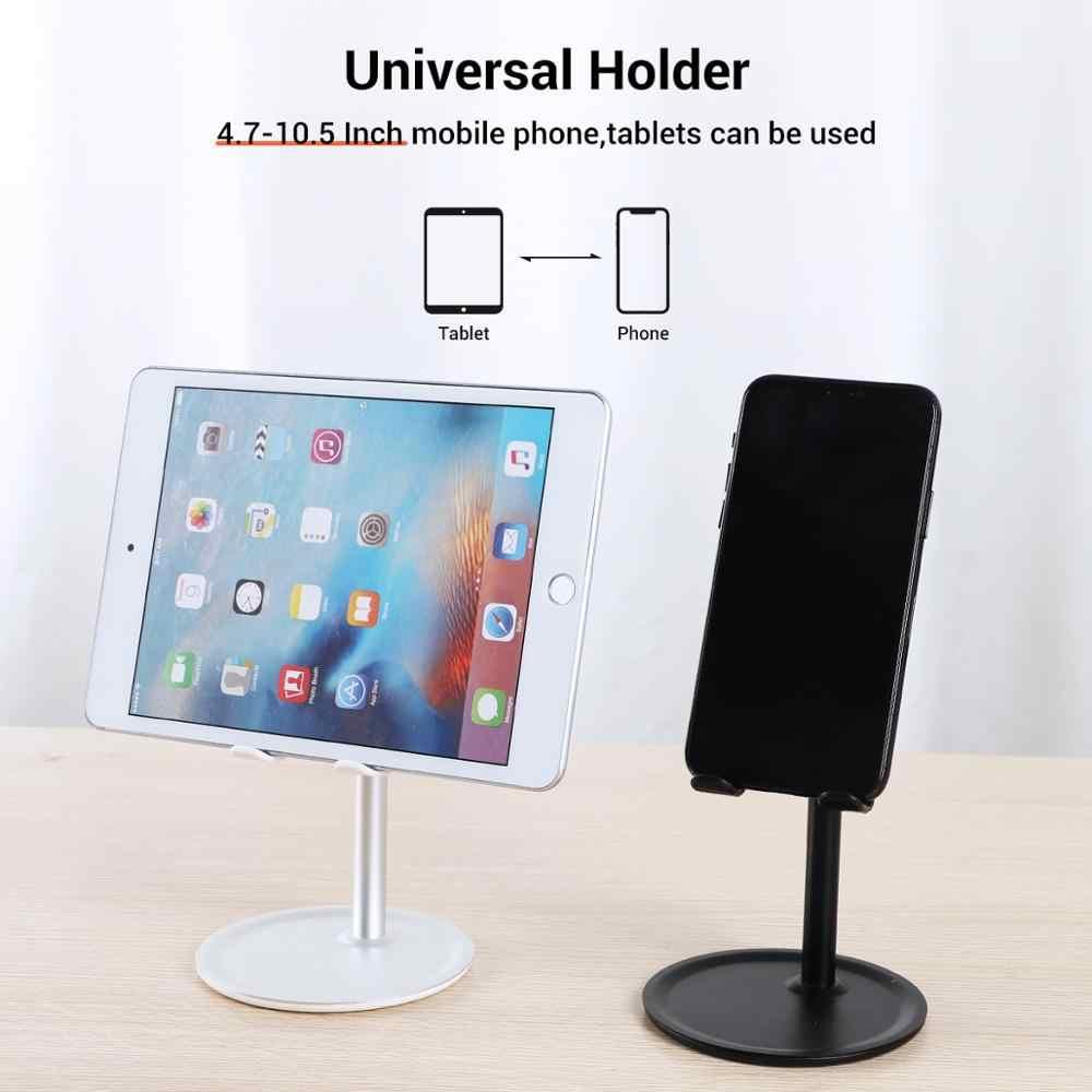 TOPK универсальный настольный держатель для планшета для всех телефонов, Алюминиевый Регулируемый Настольный держатель для планшета