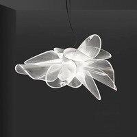 nordic Italian design luxury bud pendant lights for coffee store bar art deco living room lighting fixtures villa led luminaire