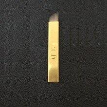 200 pces lamina flex pcd fino tebori microblading selecione 12cf 0.18mm/0.25mm/0.16mm/0,18mm/fina agulha tebori micro