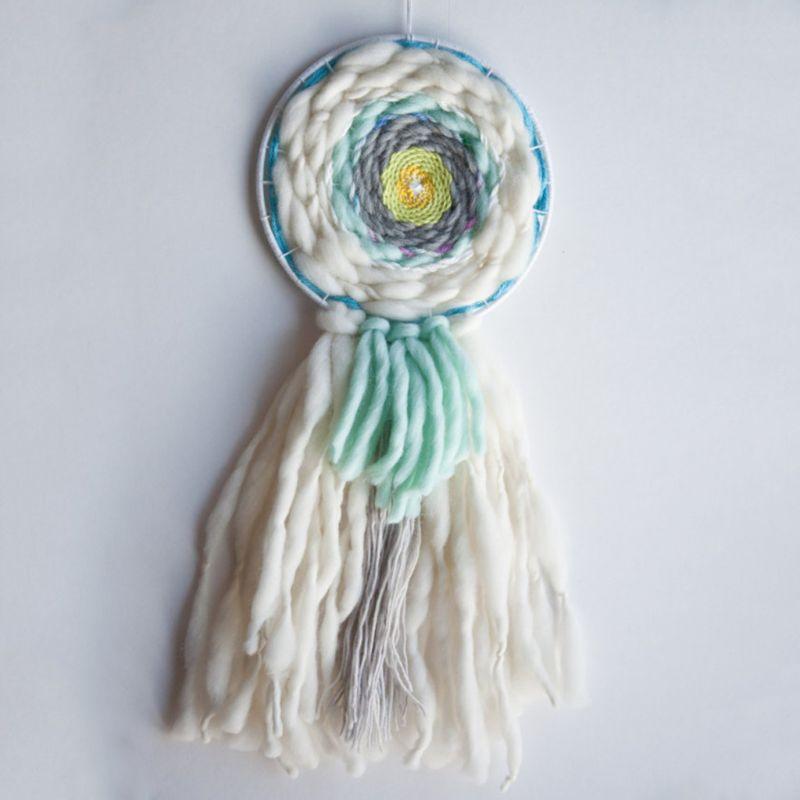 Kids Round Knitting Loom Board Kit Handheld Craft Knitting Tool For Children Gif 72XC