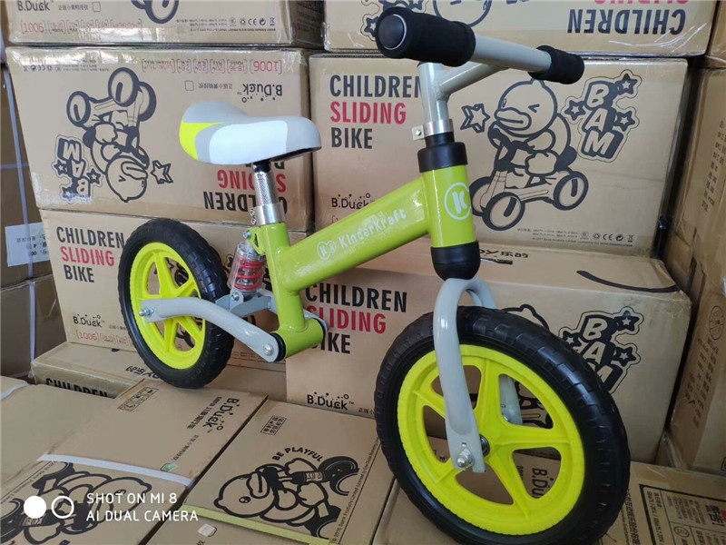 H6597780df7b14a779ed3a72b7a27c201L Brand New Balance Bike Bicycle For Kids 3~6 Ages Child Toddler Complete Cycling Bike Learn to Ride Bicicleta No Pedal Push Bike