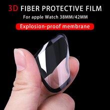 3d полное покрытие закаленное стекло для apple watch серии 6