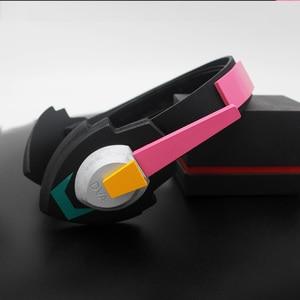 Image 2 - Watch Over D.Va Gun Headphone for Cosplay Weapon Hana Song D VA Prop Pistol Headset Accessories for Halloween Christmas Gift DVA