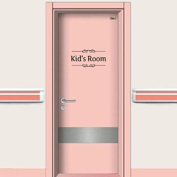 Funny Toilet Kids Bathroom Door Stickers Toilet Kids Kitchen Office Bedroom Playroom Mural Art 3 D