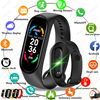 2021 M6 Smart Watch Men Women Kids Smartwatch Heart Rate Monitor Sports Fitness Bracelet For iPhone Xiaomi Redmi Android Watches