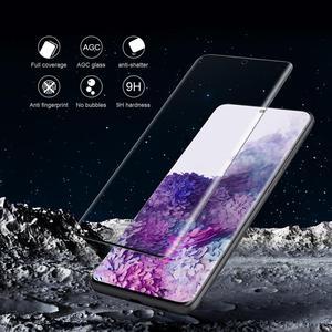Image 3 - Für Samsung Galaxy S20 S10 S9 Plus S10e S20 Ultra Glas Screen Protector Nillkin 3D Volle Abdeckung Gehärtetem Glas Hinweis 10 Plus 9 8