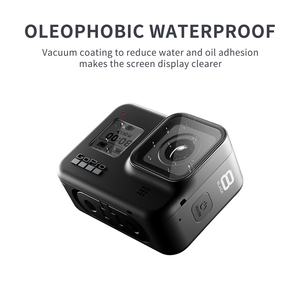 Image 3 - SHOOT for Gopro Hero 8 Black Tempered Glass Screen Protector LCD Screen Protective Film for Go pro Hero 8 Go Pro 8 Camera Access