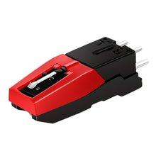 Новейший проигрыватель Phono картридж с сменным стилусом черный и красный для виниловых проигрывателей экономичный и прочный