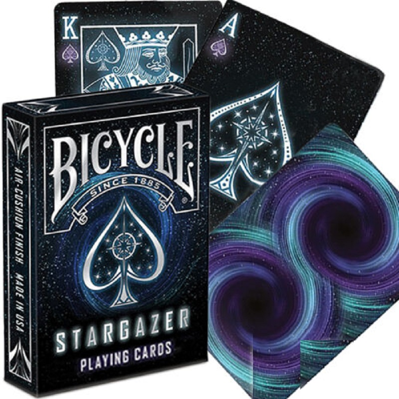 Bicycle Stargazer Playing Cards Space Galaxy Deck Uspcc Collectible Poker Magic Card Games Magic Trick Props For Magician Playing Cards Aliexpress