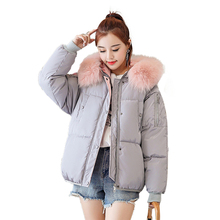 Coat Women Loose Plus Size Parka Winter New Long Sleeve Clothes Hoodie Korean Style Hot Sale Fashion