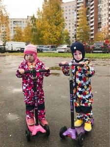 Jumpsuit Soft-Shell Children's Velvet Rainproof Integrated Warm And Plus