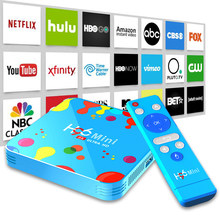 Inteligentny zestaw Top Box z systemem Android 9 9.0 TV Box Allwinner H6 Quad Core 6K 4GB 128GB H96 mini 2.4G/5G Bluetooth odtwarzacz multimedialny HD mysz powietrzna(China)