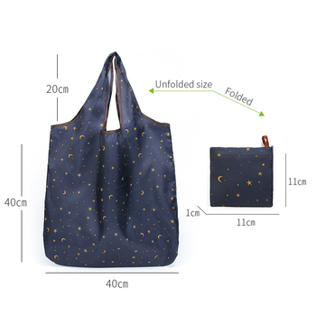 Reusable Eco-Friendly Grocery Foldable Shopping Bag 6