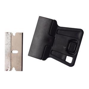 Image 2 - 5ピースミニハンドかみそりスクレーパーで炭素鋼ブレード古いフィルムガラス接着剤の除去ナイフ携帯電話タブレット画面クリーナー5E18