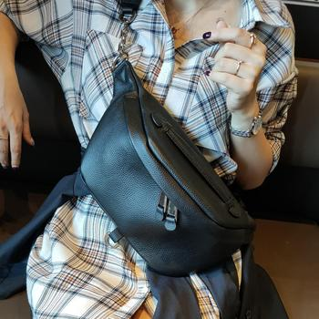 BRIGGS Belt Bag Waist Packs For Women Designer Brand Luxury Quality Female Genuine leather Fanny Pack Bags